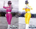 Pink And Yellow Ranges - girls-of-power-rangers photo