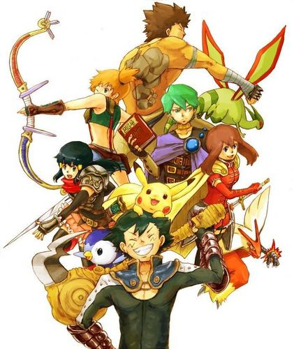 Pokemon Warriors