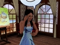Princess Nancy on the Cellphone Sims 3 - enchanted fan art