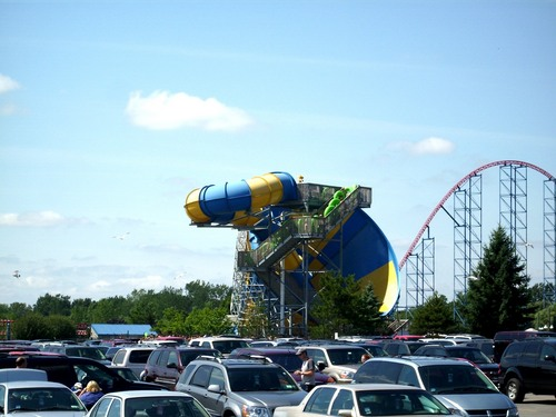 ProSlide Tornado at Darien Lake