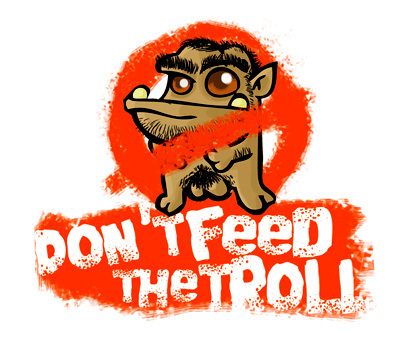 fanpop wallpaper titled Remember....Don't Feed the Trolls!