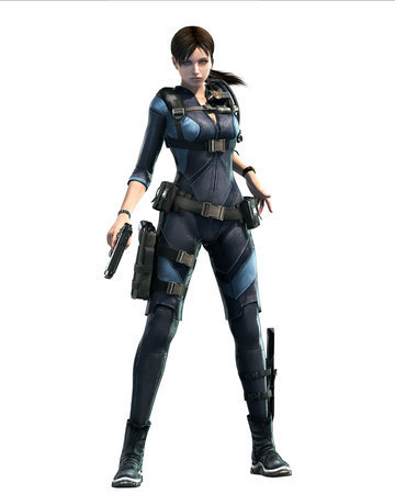 Resident Evil wallpaper with a rifleman and a navy seal entitled Resident Evil Revelations Jill Valentine Art