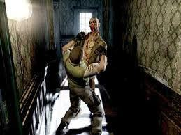 Zombies wallpaper containing a rifleman called Resident Evil