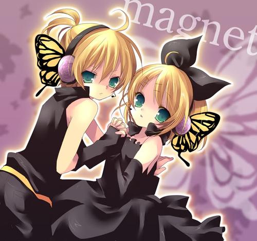 Rin & Len Magnet