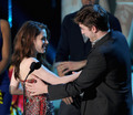 Rob and Kristen at the MTV Movie Awards - twilight-series photo