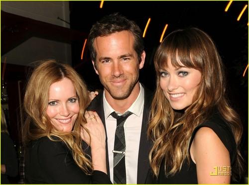 Ryan Reynolds & Olivia Wilde Celebrate 'Details'