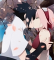 Sakura&Sasuke beautiful kiss - sasusaku photo
