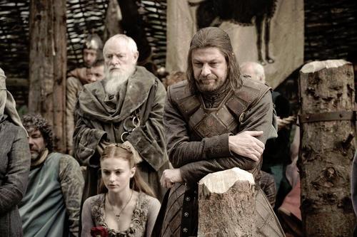 Sansa & Ned