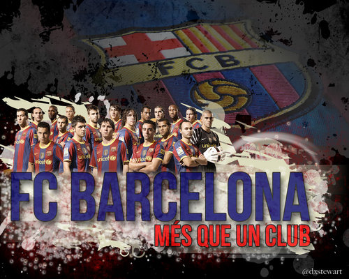 FC Barcelona wallpaper containing a multiplex called Season 2010/11 Squad
