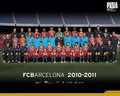 Season 2010/11 Squad - fc-barcelona wallpaper