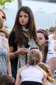 Selena - Watching Justin Bieber's Soccer Game In Stratford, Ontario - June 03, 2011
