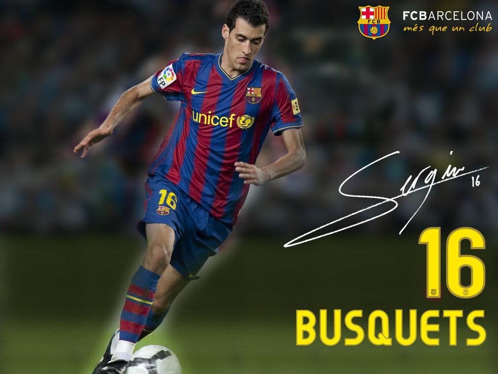 Sergio Busquets 200910 FC Barcelona