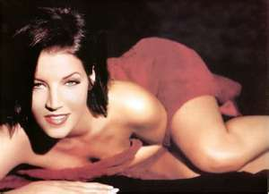 Lisa Marie Presley wolpeyper with skin titled Sexy Lisa