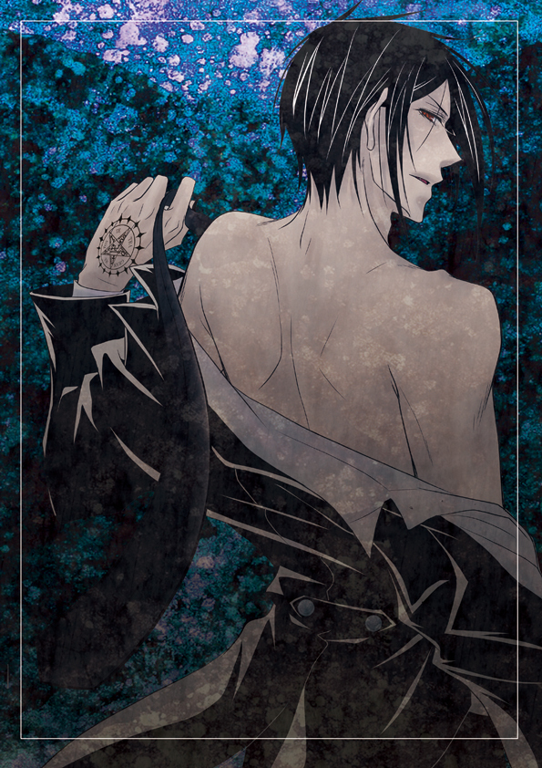 Sexy seb - sebastian-michaelis fan art