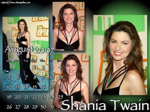 Shania Twain karatasi la kupamba ukuta possibly containing a portrait and anime titled Shania Twain