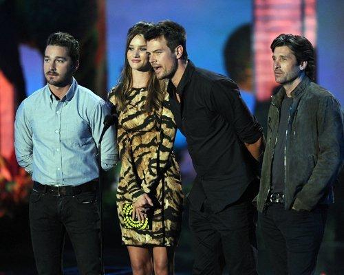 shia labeouf 2011. Shia @ 2011 MTV Movie Awards