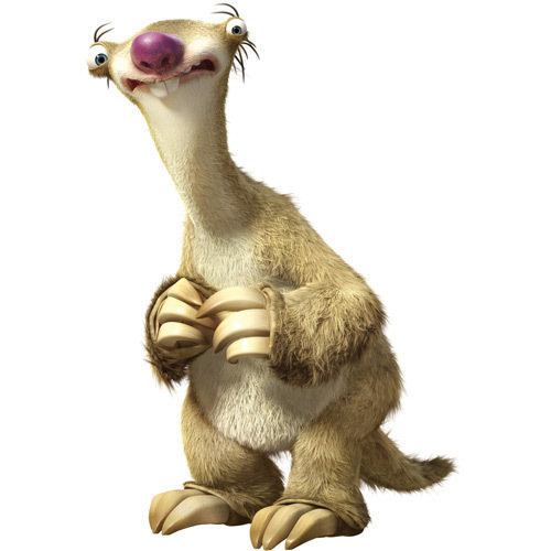 Ice Age Sid Smiling