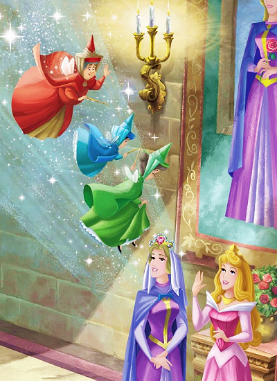 Disney Sleeping Beauty Fairy Godmothers