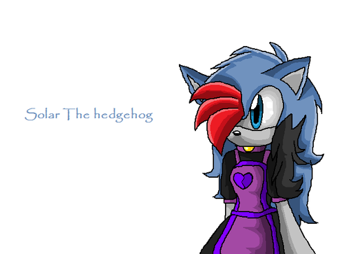 Solar the hedgehog