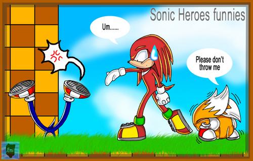 Sonic Heroes Funnies