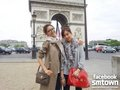 Sooyoung and Tiffany in Paris