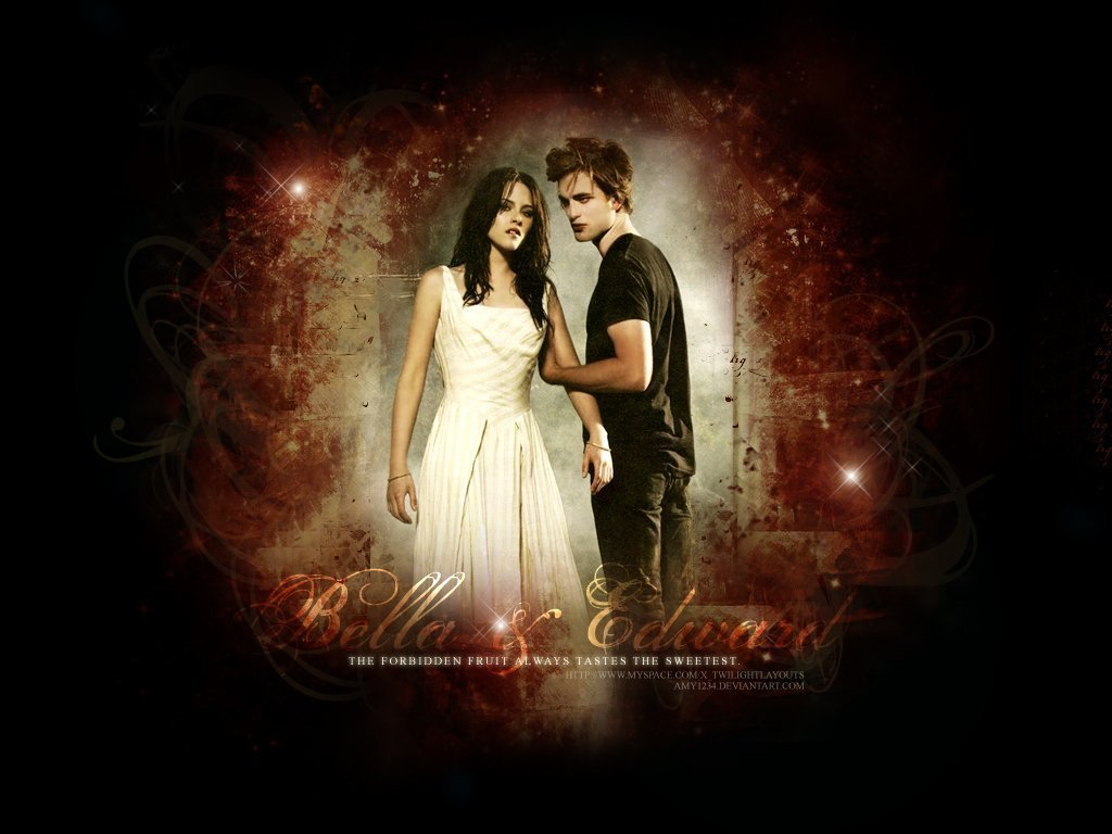 Twilight Love couple Wallpaper : TWILIGHT - LOVE ANGELS Wallpaper (22695521) - Fanpop