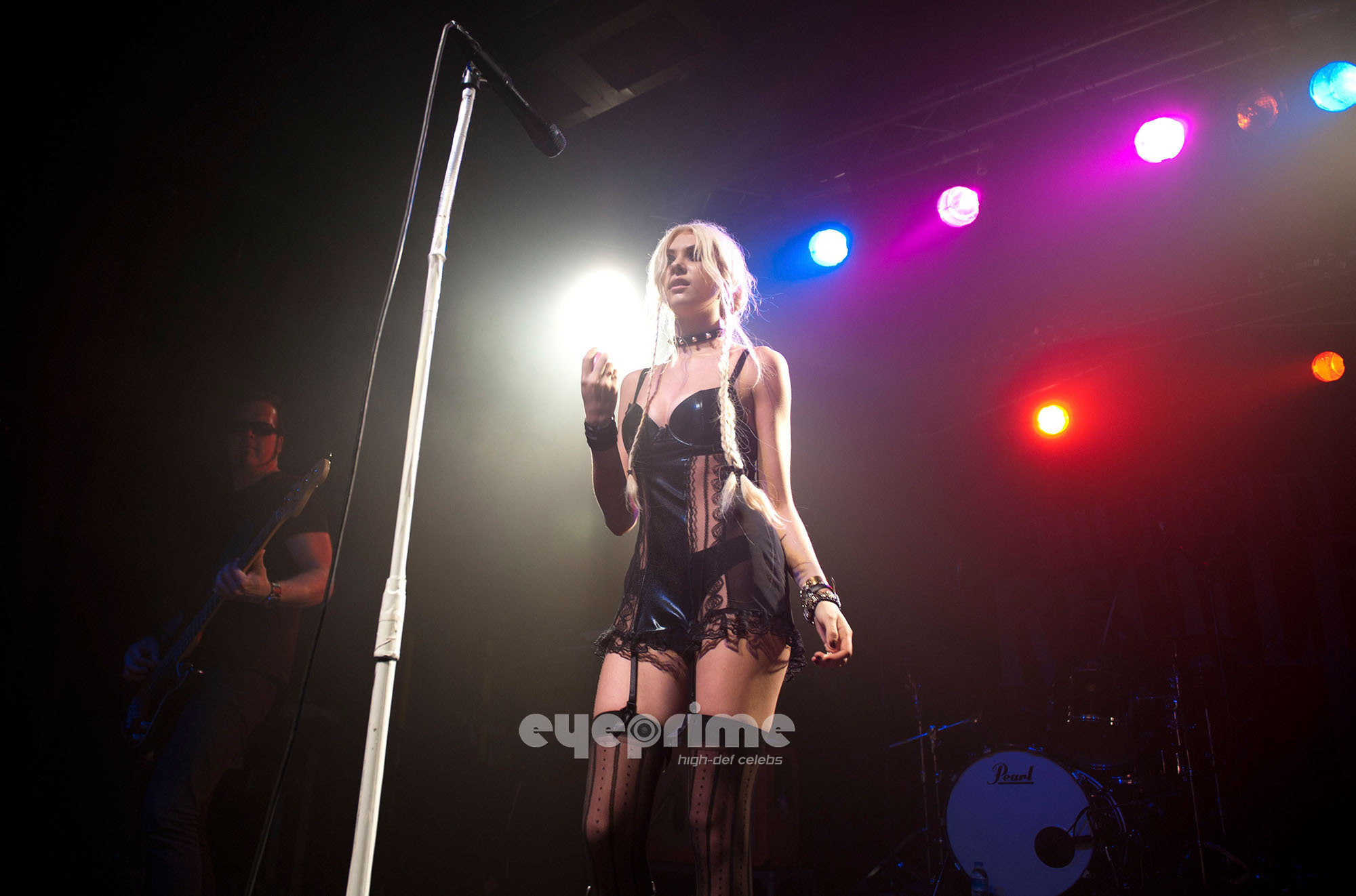 Taylor Momsen performs at C-Club in Tempelhof, Berlin