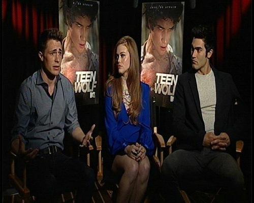 Teen Wolf press junket