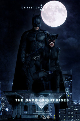 The Bat and The Cat Poster