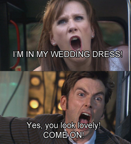 The Doctor and Donna: The Runaway Bride