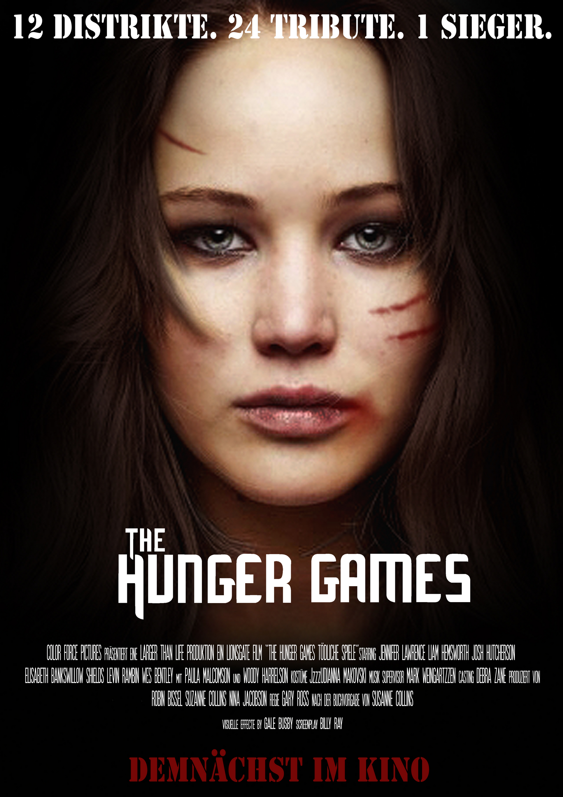 The Hunger Games (Fanmade movie poster) - The Hunger Games Fan Art ...