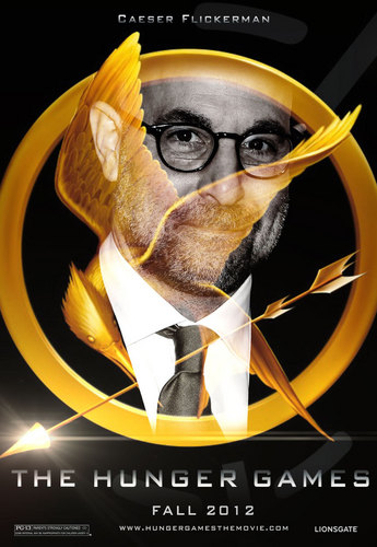 The Hunger Games fanmade movie poster - Caesar Flickerman