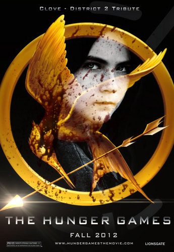 The Hunger Games fanmade movie poster - Clove