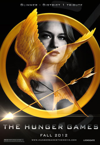 The Hunger Games fanmade movie poster - Glimmer