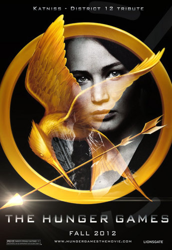 The Hunger Games fanmade movie poster - Katniss Everdeen