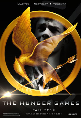 The Hunger Games fanmade movie poster - Marvel