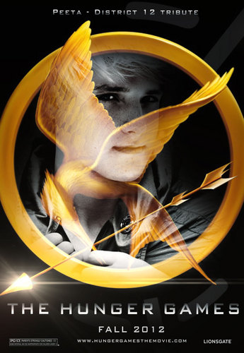 The Hunger Games fanmade movie poster - Peeta Mellark