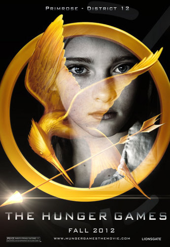 The Hunger Games fanmade movie poster - Primrose Everdeen