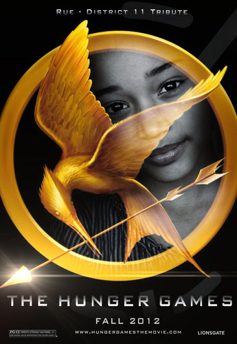 The Hunger Games fanmade movie poster - Rue