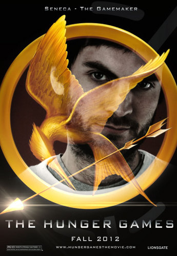 The Hunger Games fanmade movie poster - Seneca Crane