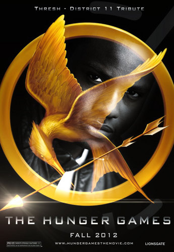 The Hunger Games fanmade movie poster -Thresh