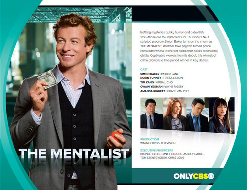 The Mentalist 2011 CBS Logo