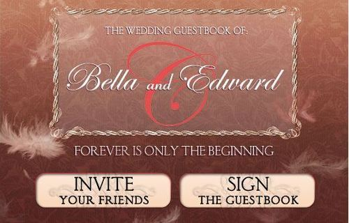 The Twilight Saga Wedding Guest Book on 페이스북