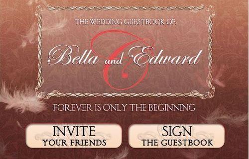 The Twilight Saga Wedding Guest Book on Facebook