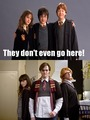 They Don't Even Go Here! o.o - harry-potter-vs-twilight photo