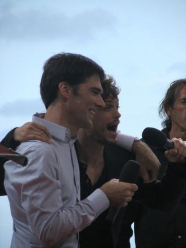 Thomas at Monte Carlo TV Festival 2011