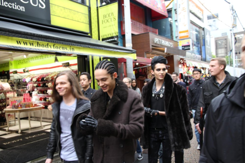 Tokio Hotel in Giappone