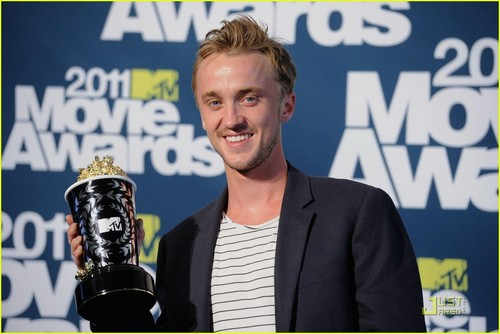 Tom Felton: MTV Movie Awards Best Villain