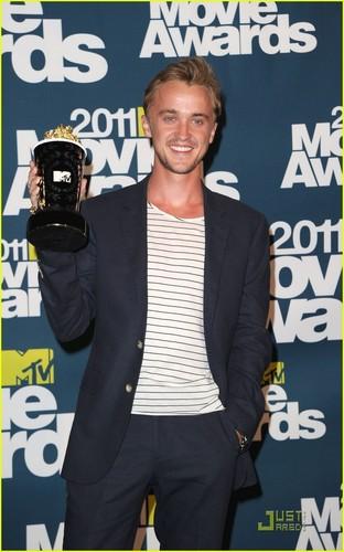Tom Felton: MTV Movie Awards Best Villain