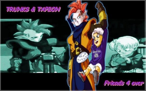 Trunks and Tapion